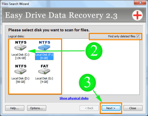 how to find where a file is saved in drive